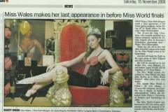 Western-Mail_Swansea-Miss-Wales.15.11.08