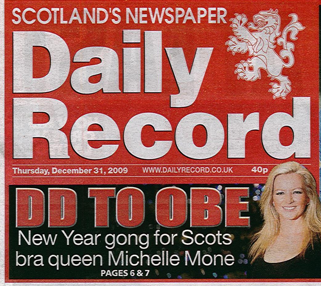 Daily-Record_Michelle-Mone-OBE-Thu31stDec09-front