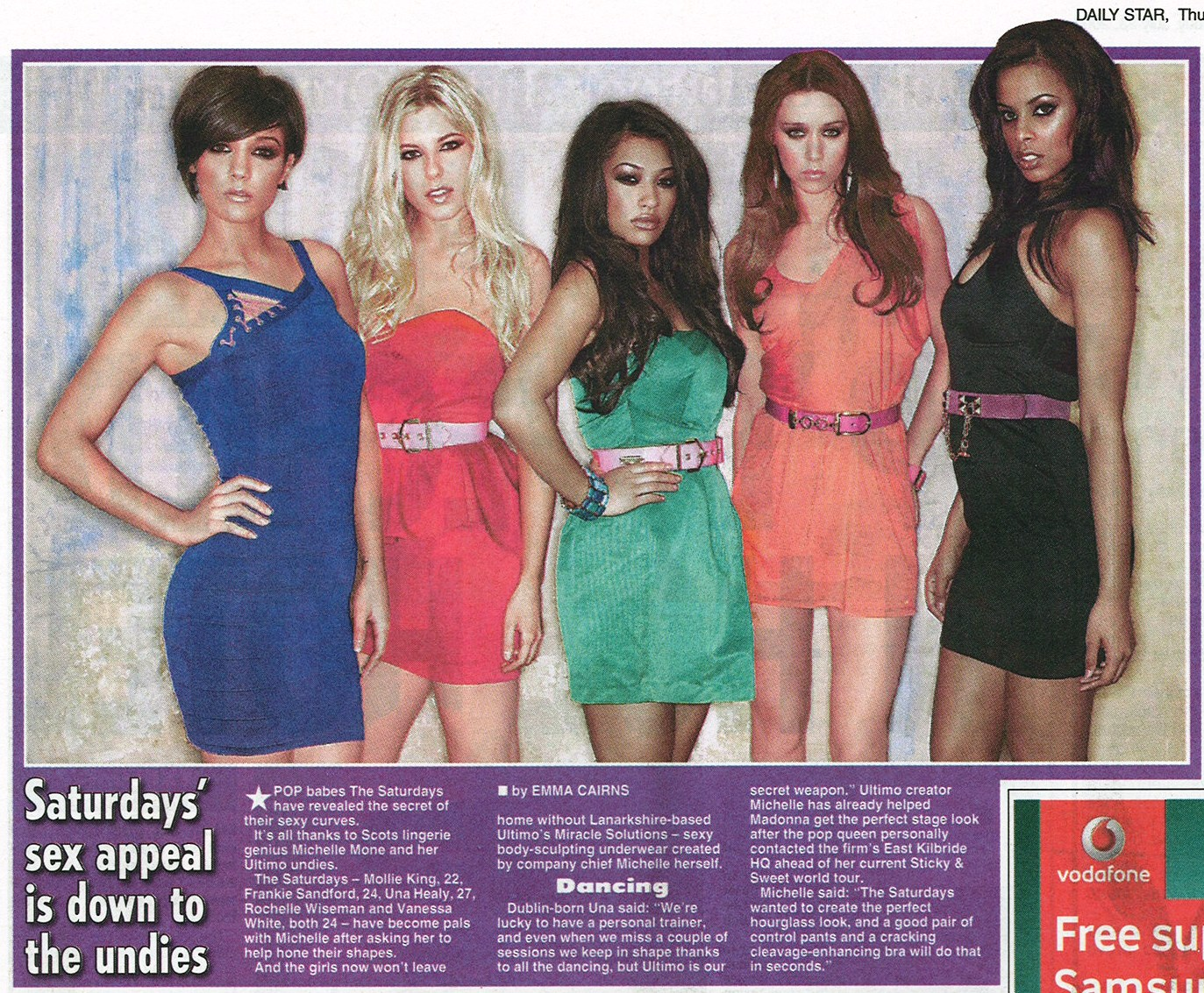 Daily-Star_The-Saturdays-July23rd09