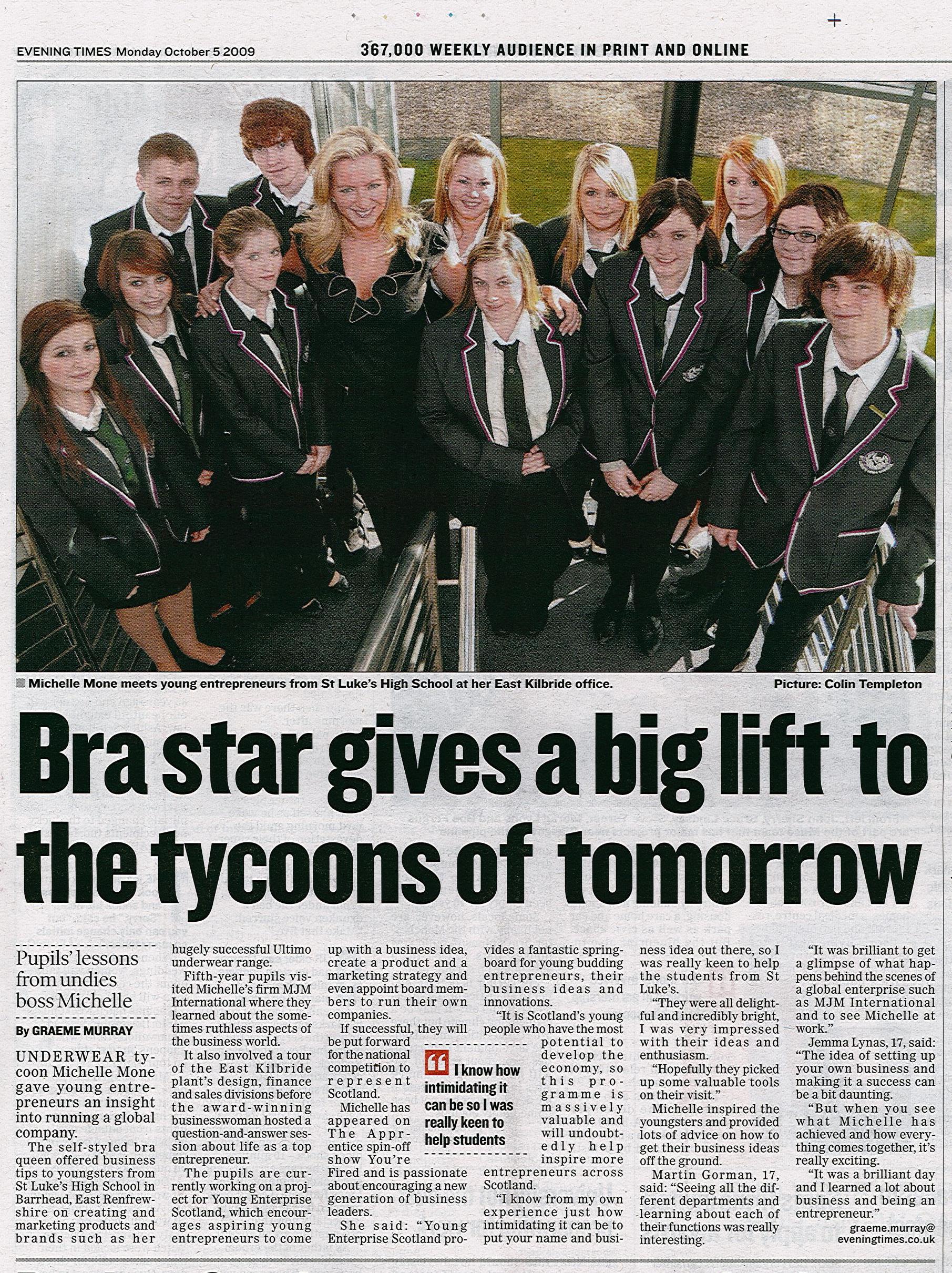 Evening-Times_St-Lukes-School-Visit-Mon5thOct