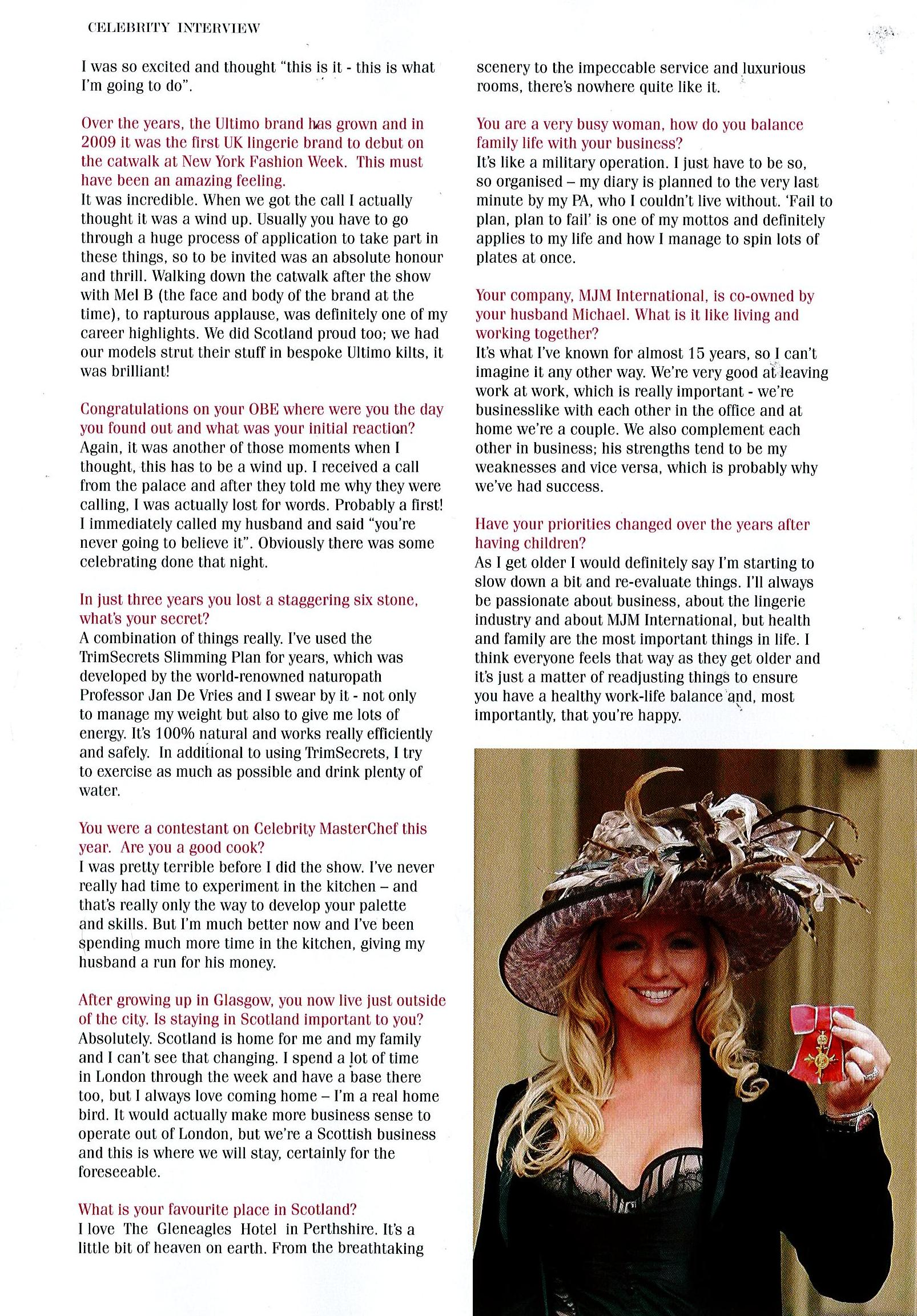 Scottish-Women-Magazine_Michelle-Mone-May-June-Issue-Page2