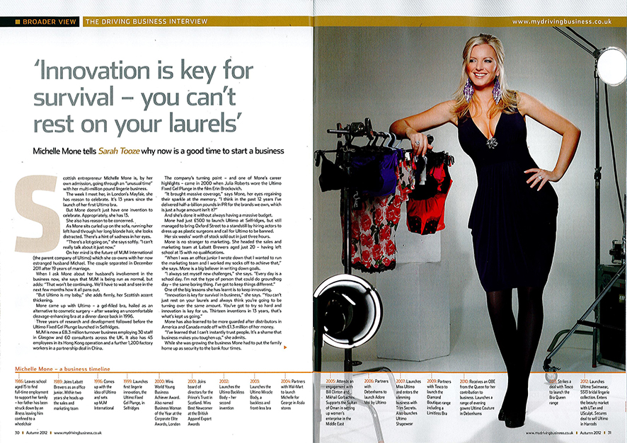 Driving-Business-Magazine-Michelle-Mone-Monday29thOctober2012-Page12