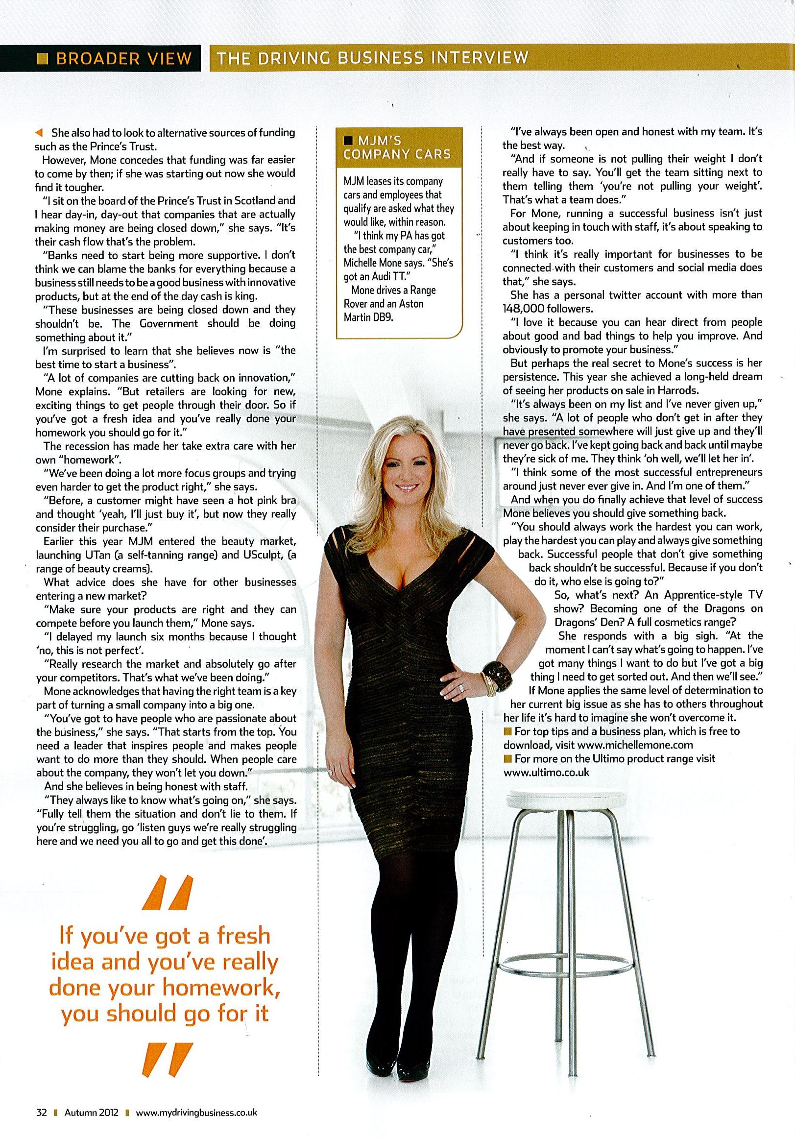 Driving-Business-Magazine-Michelle-Mone-Monday29thOctober2012-Page3