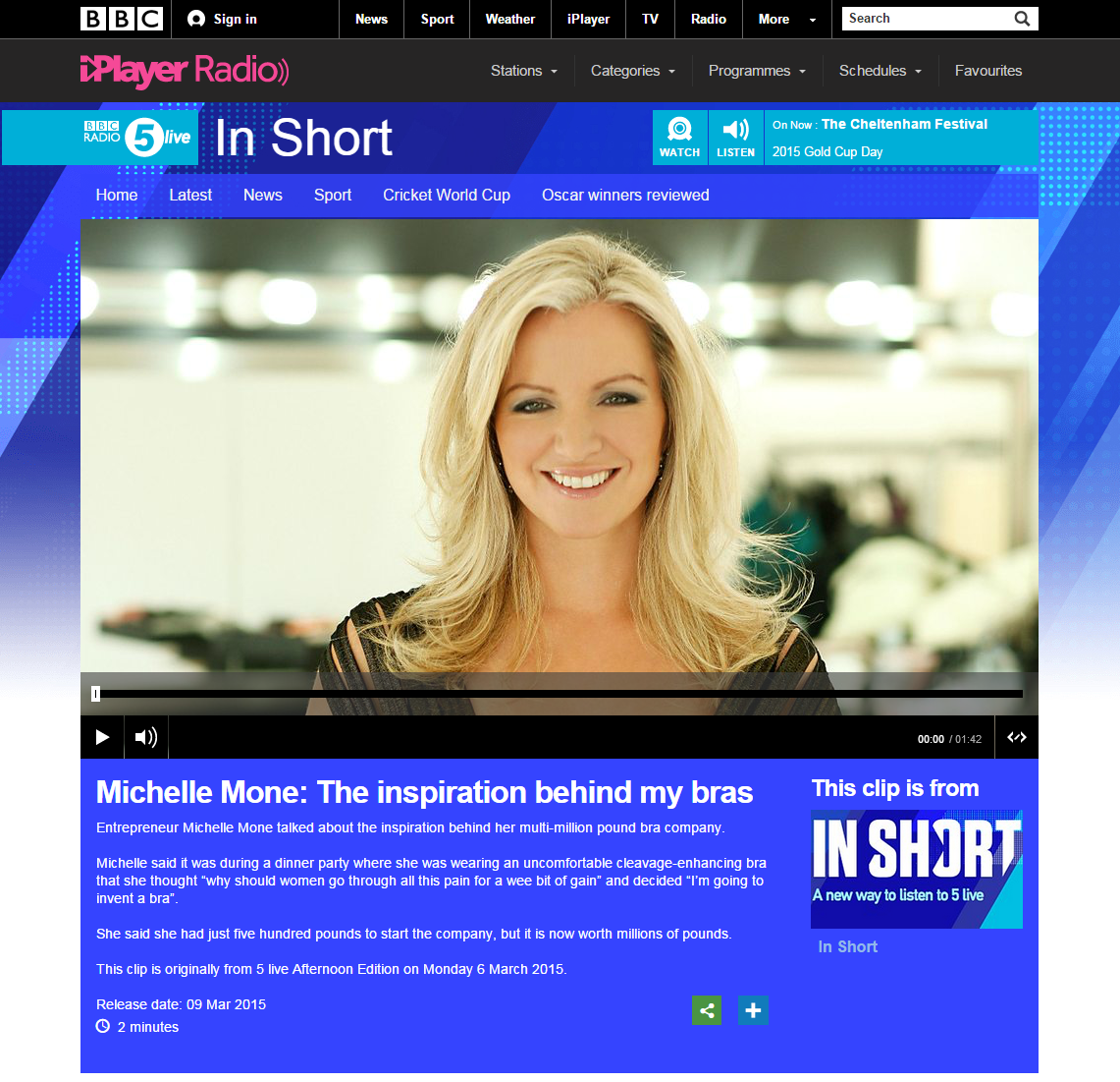 March-2015-BBC-Radio-5-live-In-Short-Michelle_bbc