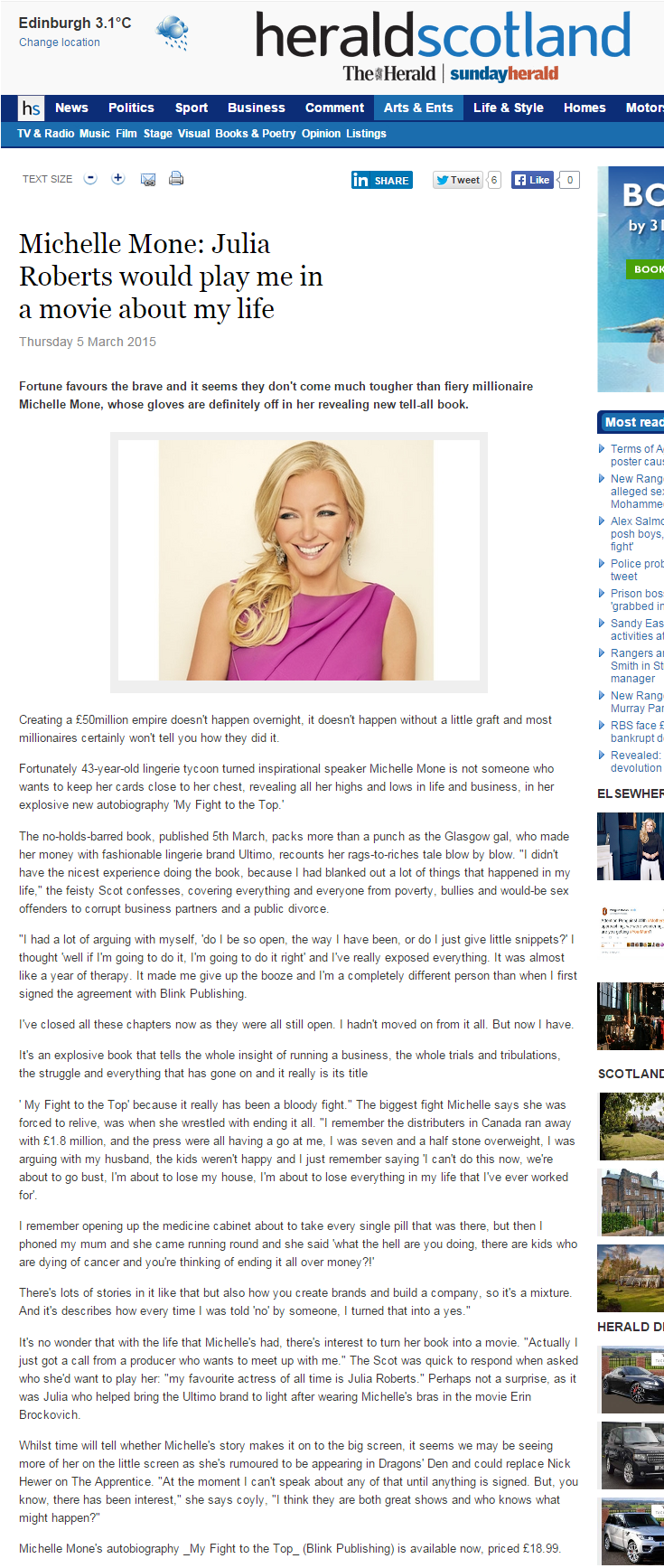 March 2015_Michelle Mone_ Julia Roberts would play_heraldscotland