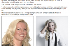 May 2015 - Daily Mail - Michelle Mone gets set to crack beauty