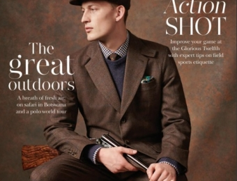 The Mayfair Magazine cover